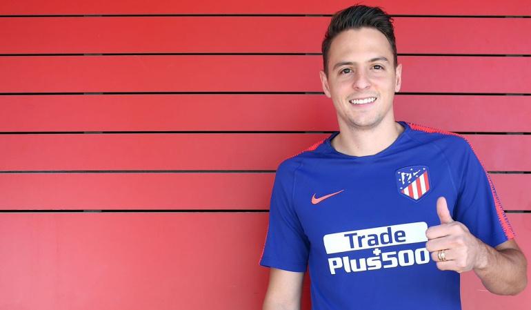 Santiago Arias Atlético de Madrid: Santiago Arias ya entrena con el Atlético de Madrid
