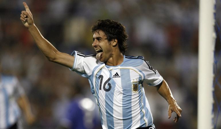 Pablo Aimar: Pablo Aimar dirigirá a Argentina en el amistoso ante Colombia