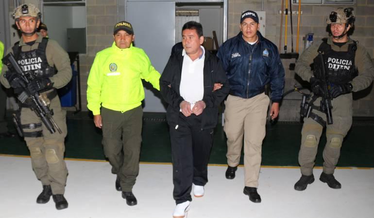 Narcotráfico: Pedro Orejas, extraditado a EE.UU.
