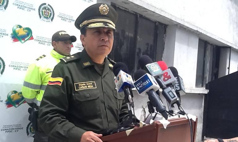 Ex general Carlos Ramiro Mena.