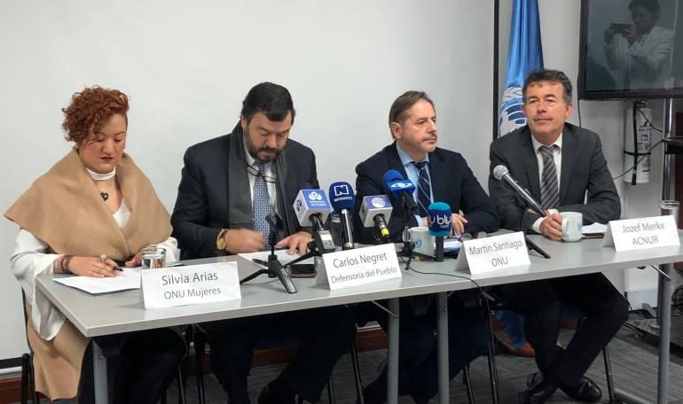 Defensoría del Pueblo: ONU y Defensoría firmaron acuerdo para fortalecer sistema de prevención