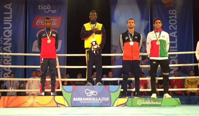 Yuberjen Martínez Oro Juegos Centroamericanos: Yuberjen Martínez ganó medalla de Oro en el boxeo