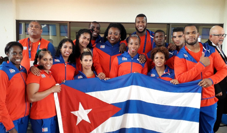Cuba femenino venció 3-0 a Venezuela y se colgó el oro en judo
