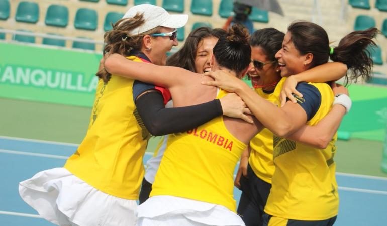 Oro Copa de Naciones Juegos Centroamericanos: El tenis femenino le entrega nuevo Oro a Colombia en los Centroamericanos