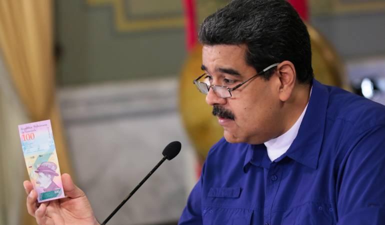 Economía Venezuela: Gobierno de Venezuela propone derogar ley que sanciona operación cambiaría