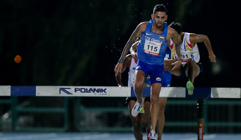 Oro Gerard Giraldo Colombia Centroamericanos: Gerard Giraldo le entrega un nuevo Oro a Colombia en el atletismo
