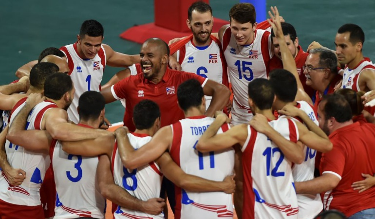 Puerto Rico Oro Colombia Plata voleibol Centroamericanos: Puerto Rico conquistó el Oro en voleibol y dejó a Colombia con la Plata