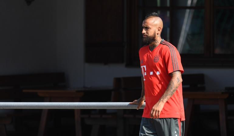 Arturo Vidal: Arturo Vidal habría dejado la concentración del Bayern