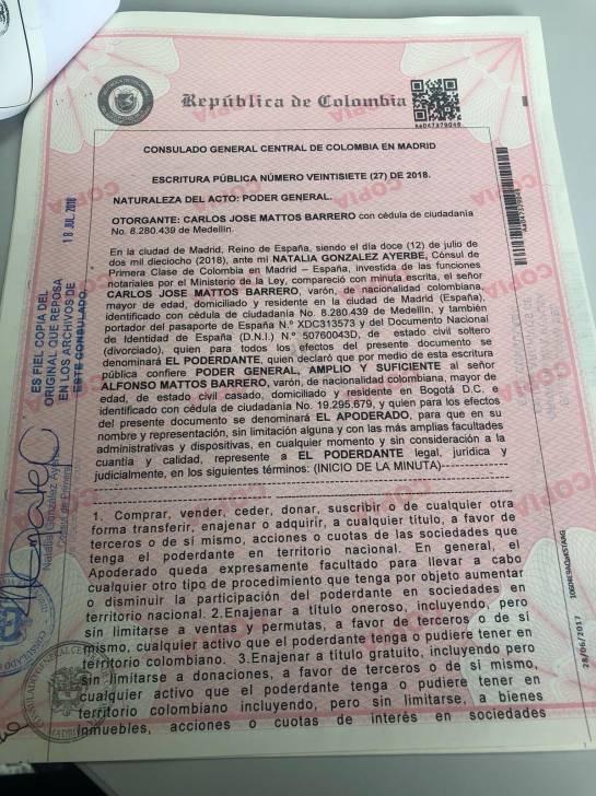 Depresión Carlos Mattos: Por depresión Carlos Mattos no asistió a la imputación de cargos