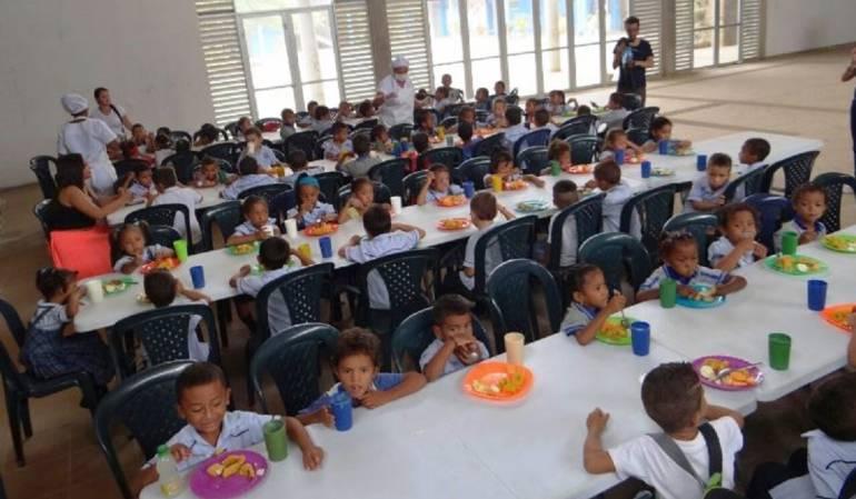 Alimentación escolar.