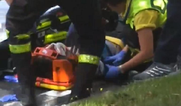 Egan Bernal Clásica San Sebastián caída: Egan Bernal sufrió fractura nasal y lesiones en el rostro tras fuerte caída