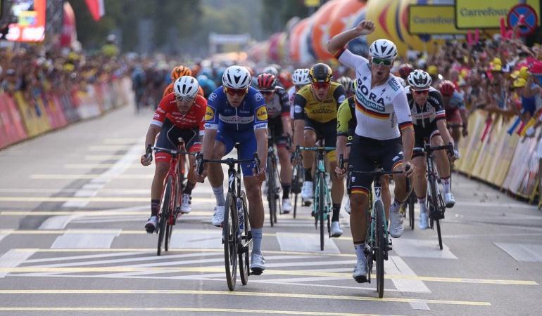 Álvaro Hodeg segundo Vuelta a Polonia: Álvaro Hodeg fue segundo en la primera etapa de la Vuelta a Polonia