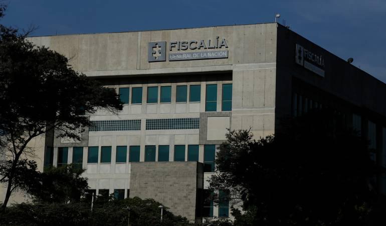 Edificio Fiscalía General de la Nación.