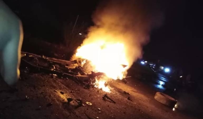 Explota carro bomba en Arauca