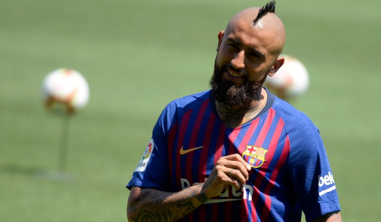"Arturo Vidal Barcelona Champions: Arturo Vidal: ""Vengo al Barcelona para ganar la Champions"""