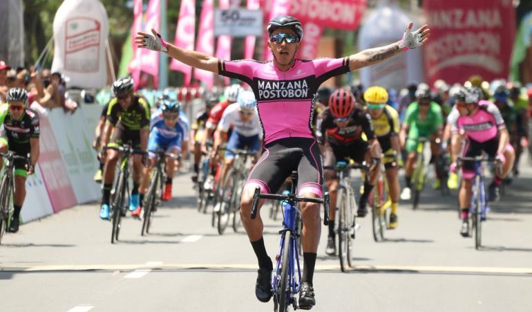 Etapa 1 Vuelta a Colombia: Juan Sebastián Molano triunfó en la primera etapa de la Vuelta a Colombia