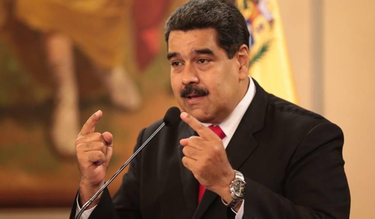 """Atentado Nicolás Maduro: Venezuela responsabiliza a Colombia de """"cualquier nueva agresión"""""""