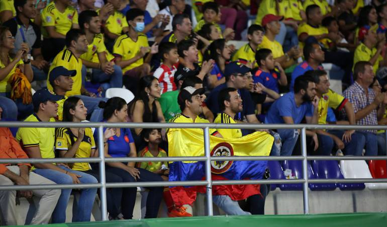 Partido de la Selección Colombia