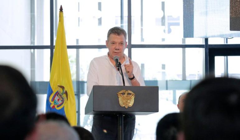 Atentado Maduro: Santos responde acusación de Maduro