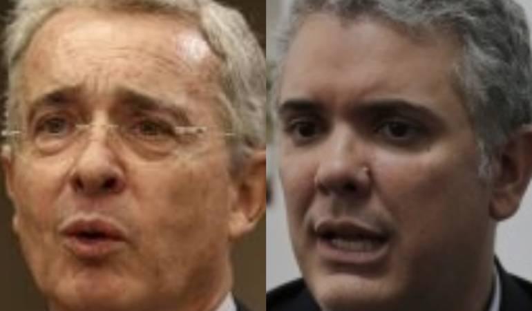 Álvaro Uribe / Iván Duque