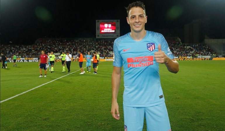 santiago arias Atletico de Madrid: Santiago Arias jugó sus primeros minutos con el Atlético de Madrid