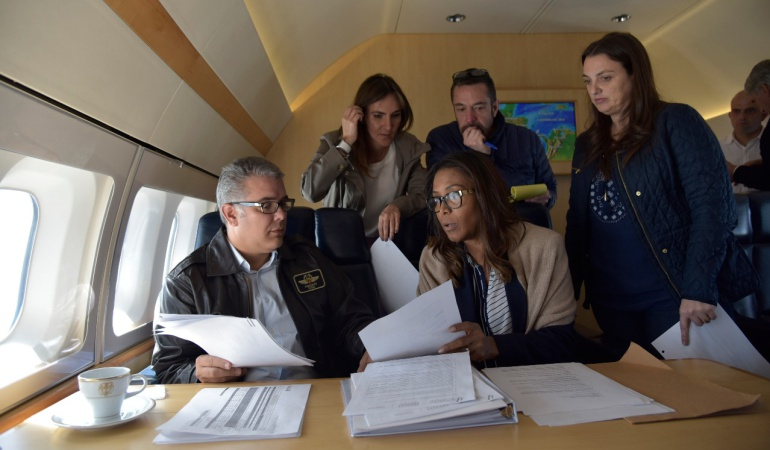 Gobierno Iván Duque: Seguridad, salud y economía, las prioridades de Duque en San Andrés