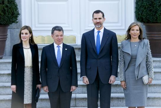 Visita a los Reyes de España
