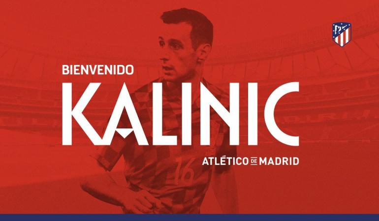 Atlético de Madrid Kalinic: El Atlético de Madrid ficha a Kalinic por tres temporadas