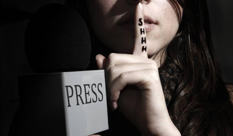 Periodistas.