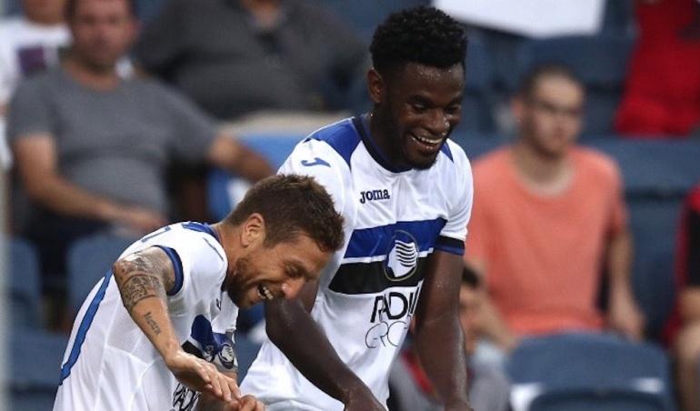 Duván Zapata anotó gol con Atalanta por la Europa League: Duván Zapata anotó su primer gol con la camiseta de Atalanta