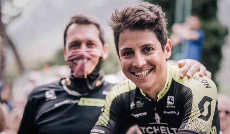 Esteban Chaves mononucleosis: Esteban Chaves sufre de mononucleosis y no estará en la Vuelta a España