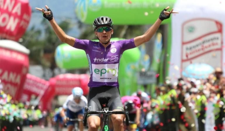 Vuelta Colombia 2018, Juan Pabló Suárez ganó la quinta etapa: Juan Pablo Suárez ganó la quinta etapa de la Vuelta Colombia 2018