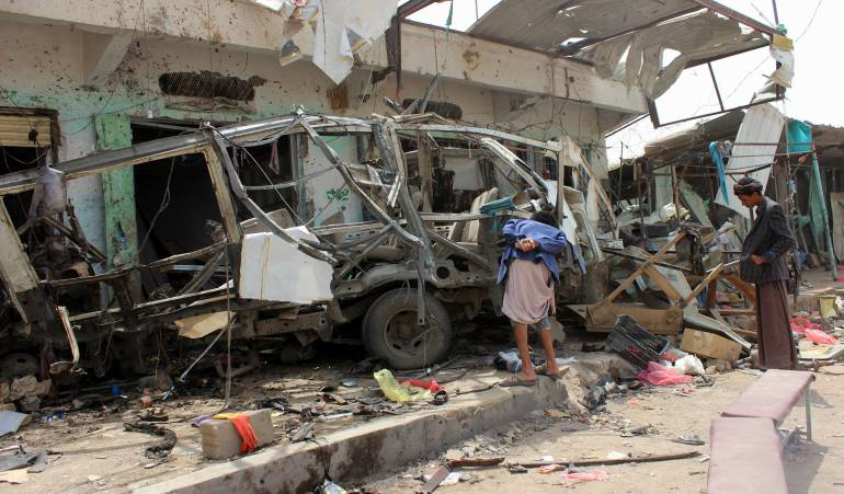 Consejo de Seguridad de la ONU se reúne por ataque a niños en Yemen