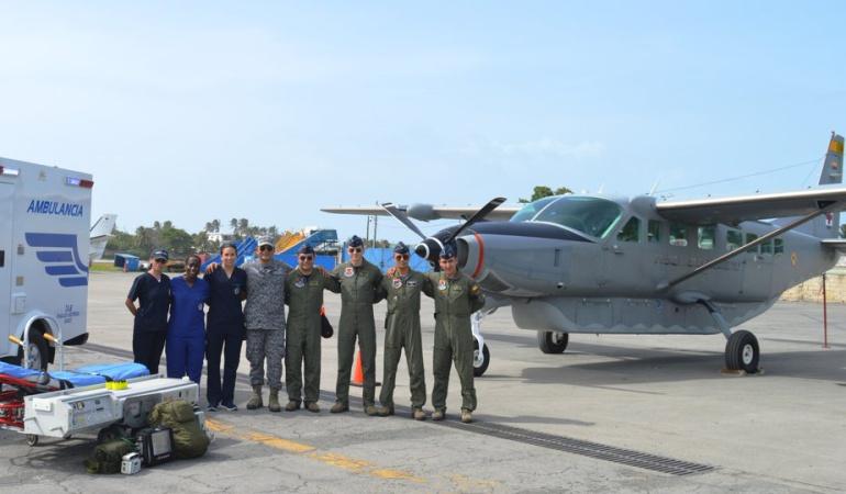 Medicamentos en San Andrés gobierno Duque: Avión medicalizado que prometió el presidente Duque ya está en San Andrés