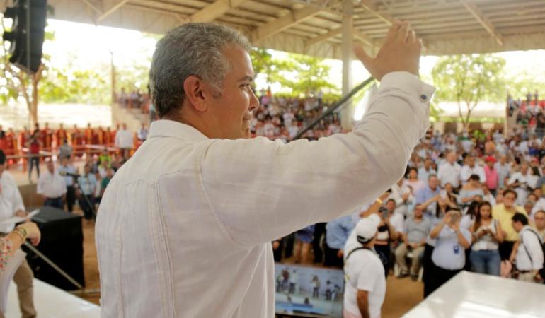 Taller Construyendo País en Cundinamarca: Primer regaño de Duque a un alcalde y gobernador