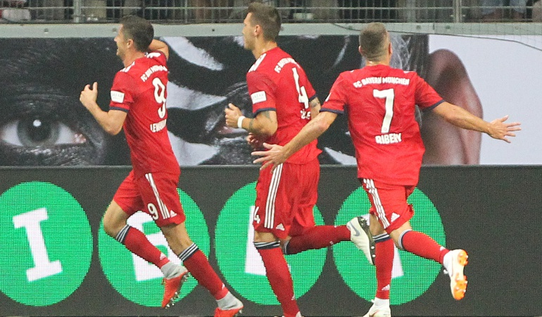 Bayern Múnich Final Supercopa: Con Lewandowski como figura el Bayern se llevó el título de la Supercopa