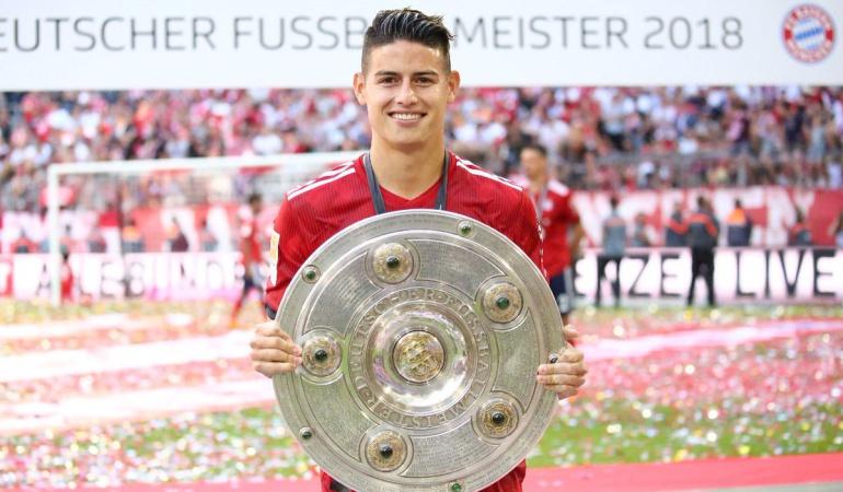 James Rodríguez títulos más campeón de la historia: James amplía su leyenda: el jugador colombiano más campeón de la historia