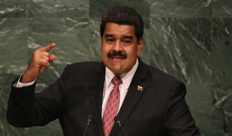 """Ataque a Maduro responsables: Maduro: Santos """"dio la orden de preparar mi asesinato"""""""