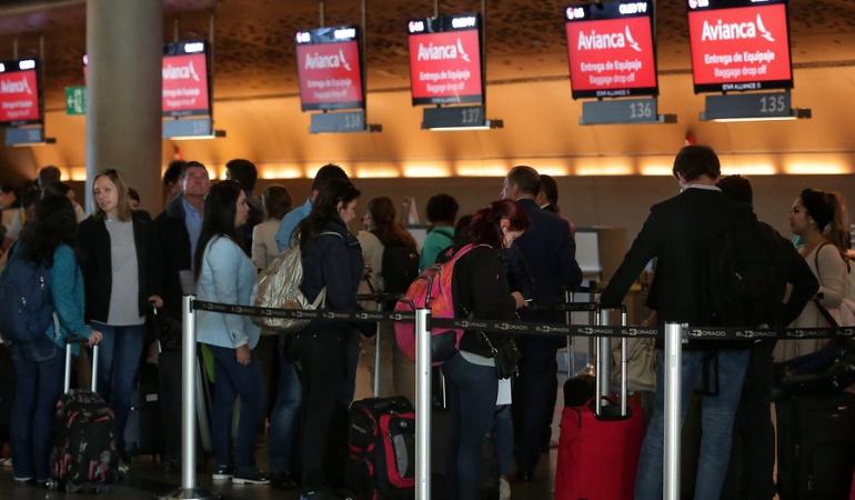 Vuelos cancelados Avianca: Cancelan 18 vuelos de Avianca para este domingo