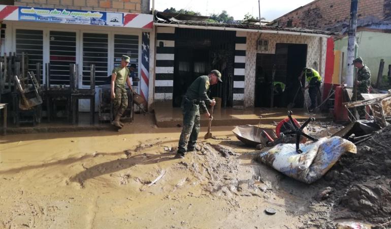 Emergencia en Mocoa por fuertes lluvias