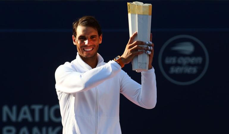 Nadal campeón Toronto Tsitsipas: Nadal venció a Tsitsipas y logró el título número 80 de su carrera