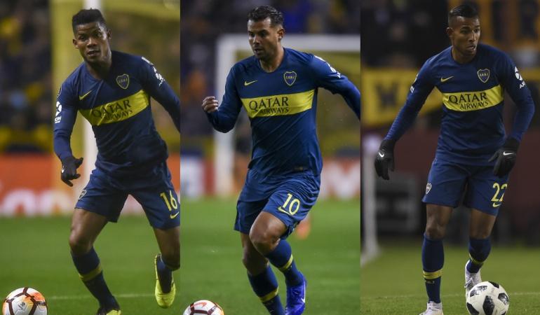 Boca Juniors, Barcelona, Wilmar Barrios, Edwin Cardona, Sebastian Villa: Barrios, Cardona y Villa, convocados para enfrentar al Barcelona