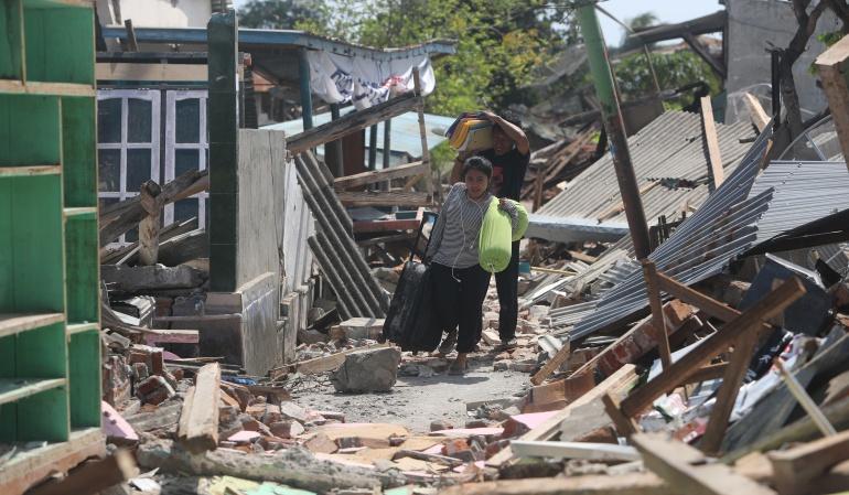 Terremoto Indonesia: Indonesia sube a 436 el número de muertos por terremoto en isla de Lombok