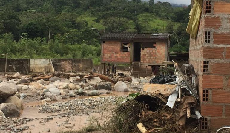 Emergencia por lluvias en Mocoa: Este lunes quedaría restablecido el servicio de agua en Mocoa