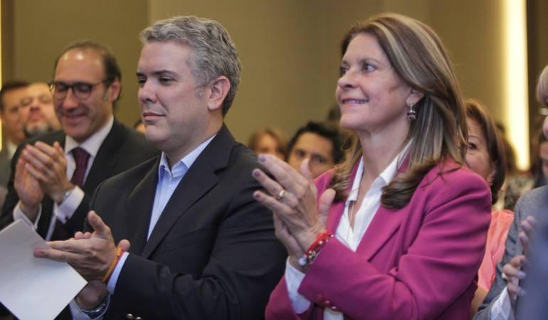 Iván Duque / Martha Lucía.
