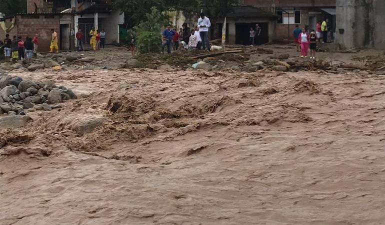 Emergencia por lluvias en Mocoa.: Mocoa, en calamidad pública por emergencia invernal