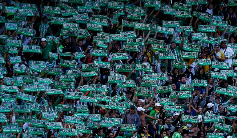 promedio aficionados Nacional disminuyó: Promedio de aficionados de Nacional disminuyó en comienzo de la Liga