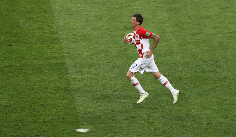 Retiro Mandzukic Croacia: Mario Mandzukic se retiró de la Selección de Croacia