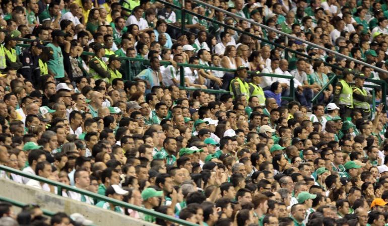 Sanción tribuna Deportivo Cali: Tribuna del estadio del Deportivo Cali fue sancionada por 5 fechas