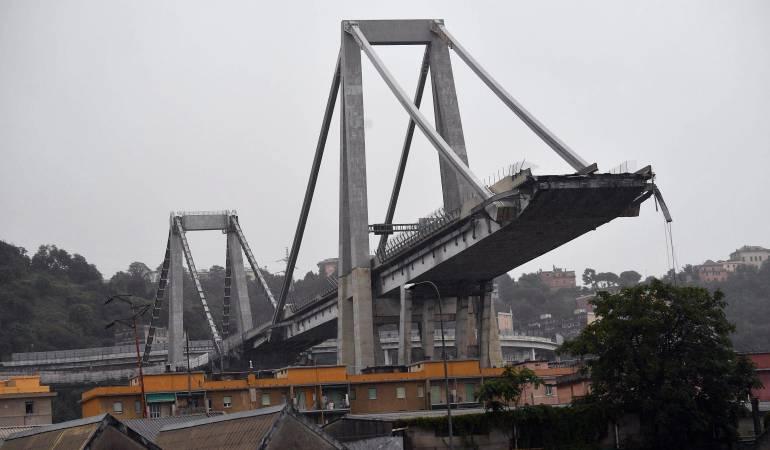 Accidente puente: Se derrumba puente en Italia y causa varias muertes